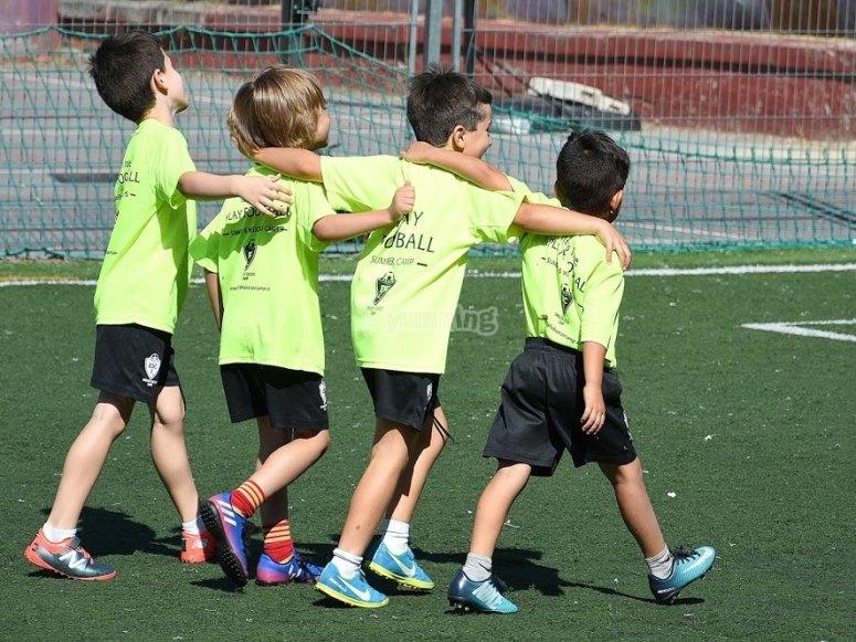 Clases de futbol en ingles en Madrid