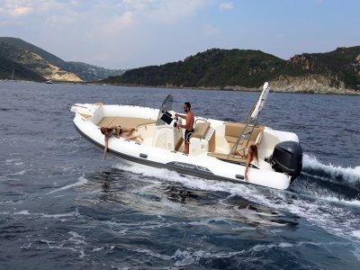 Alquiler de neumática para 12 personas en Ibiza