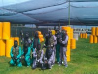 Partida de paintball en Orotava