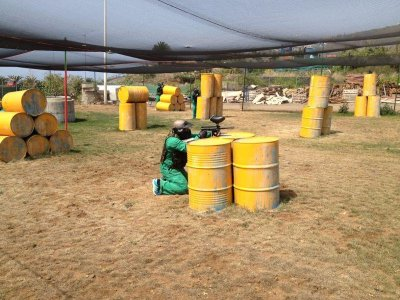 Paintball match for groups in Tenerife