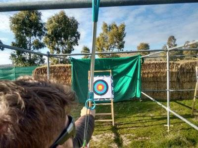 Archery session, Villanueva del Pardillo, 2 hours