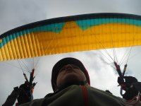 Enjoy paragliding