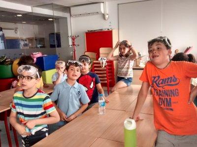 Campamento urbano de ciencia en julio en Madrid