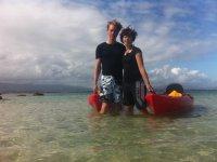 Excursion en kayak en pareja en Galicia