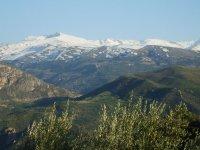 Veleta Peak in Sierra Nevada