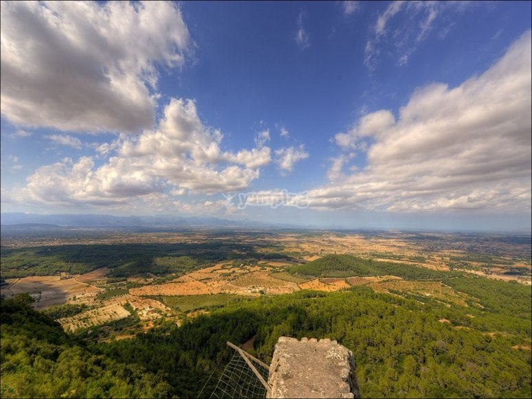 Views od the landscapes of Majorca