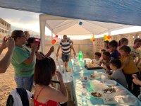 Children's birthday in the equestrian center