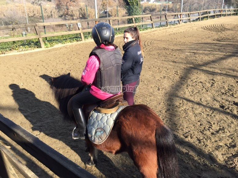Horse-riding for beginners