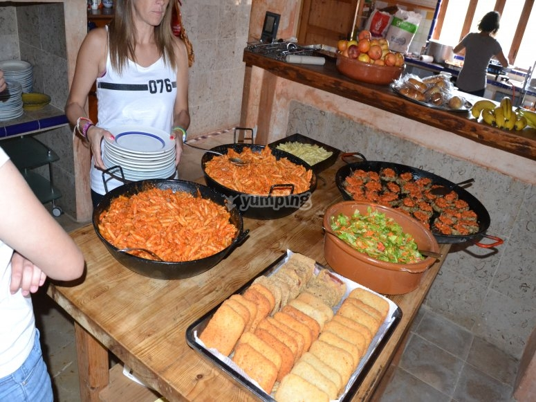 Ricos platos para una dieta equilibrada
