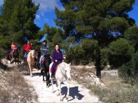 Excursión Ecuestre por la Sierra de Alicante de 1h