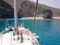 Boat trip along the coast of Almería