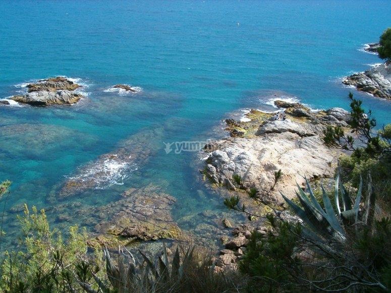 Costa Brava海岸的详细信息