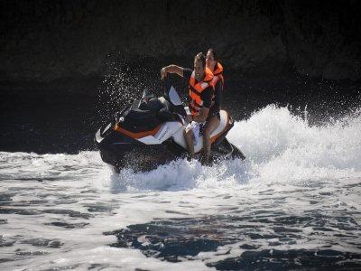 Moto de agua y flyboard en Valencia 2 personas