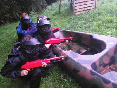 Kid's Paintball in Begonte 100 balls