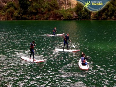 Stand-Up Paddle en río Guadiela