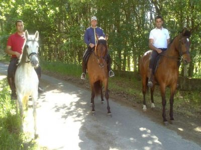 Paseo a caballo por O Souto 2 horas