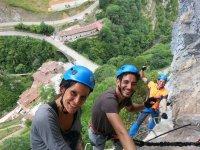 Via ferrata at Beyu por el Picu in Asturias