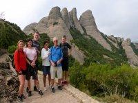 Salida de senderismo en Montserrat
