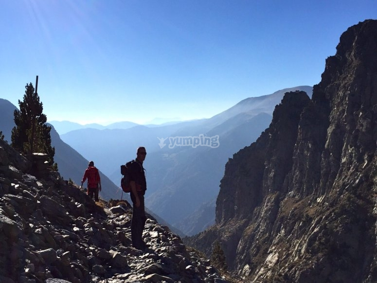 Espectaculares vistas de los Pirineos
