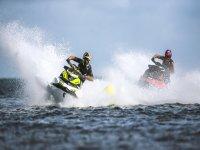 Compitiendo en motos de agua