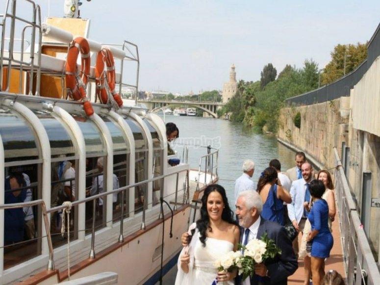 Celebra en barco cualquier tipo de evento