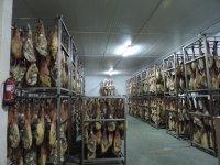 Secadero de jamones en Extremadura