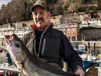 Pescar grandes peces en barco