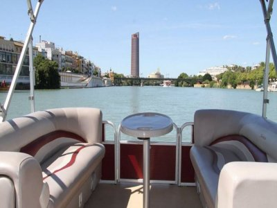 Boat trip on the Seville River 2 hours