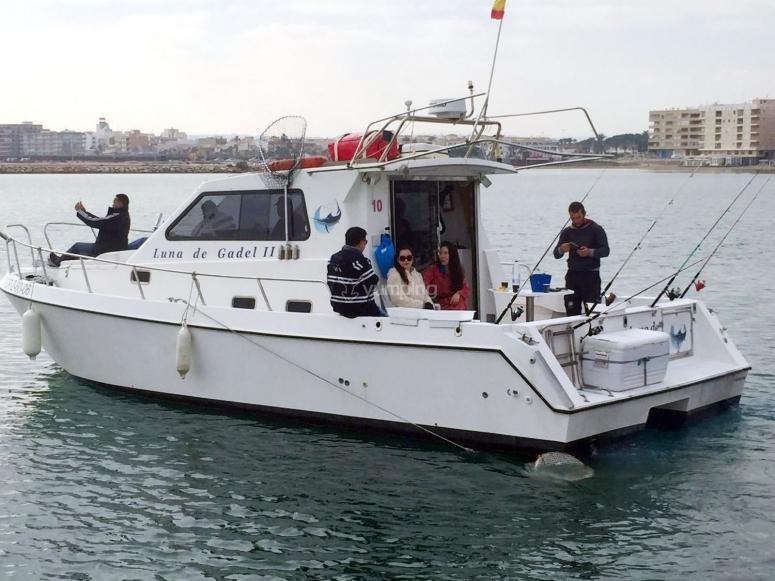 Salidas para pescar por Alicante