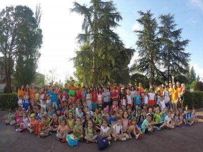 1-week bilingual summer camp in Madrid