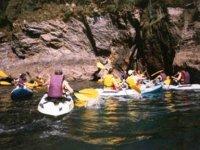 Gruppo di kayak