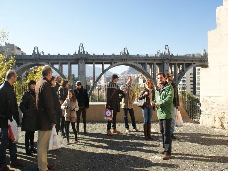 Visita al Puente de San Jorge