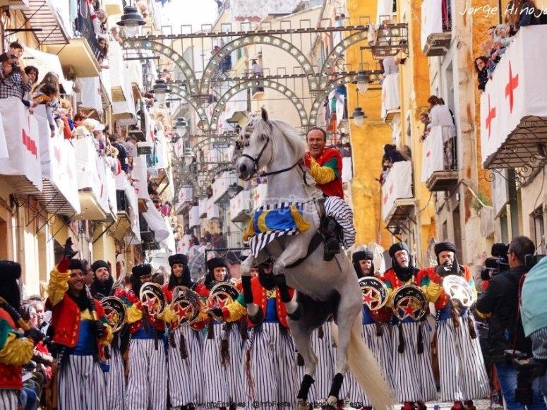 Desfiles de moros y cristianos