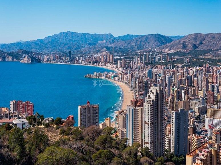 Foto de la ciudad desde las alturas