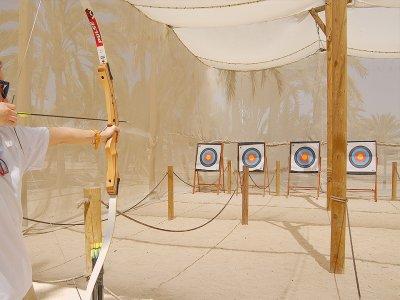 Tiro con arco en Elche 20 flechas