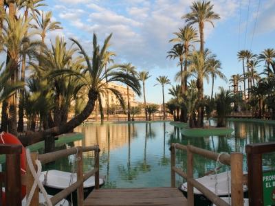 Paseo en barca por el lago en Alicante 30 minutos