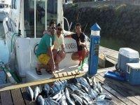 Jornada de pesca entre amigos