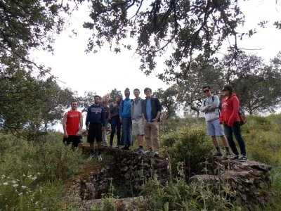 Hiking tour in the war ruins of Córdoba