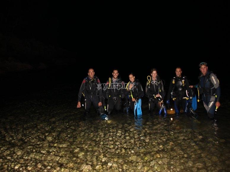 Inmersion nocturna