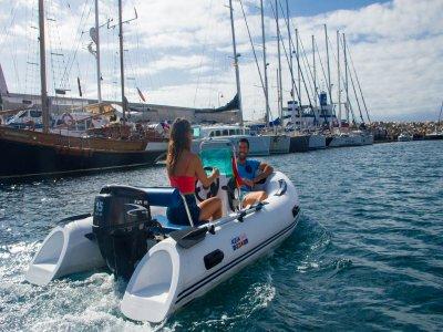 1-Hour Motorboat Rental w/o License, Tenerife