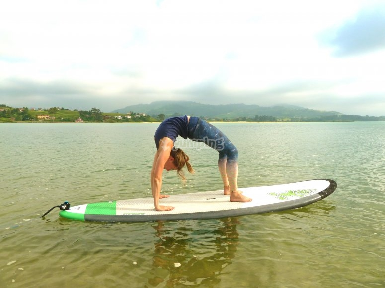 Paddle Yoga en Rodiles