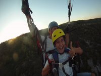 Having fun in the air