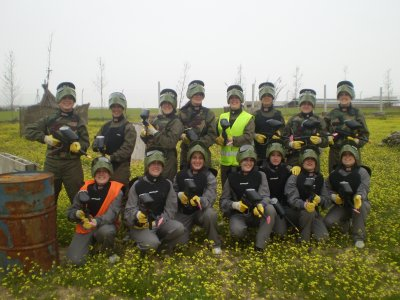 Paintball for stag/hen do in Illescas