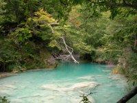 Las aguas del rio Urederra