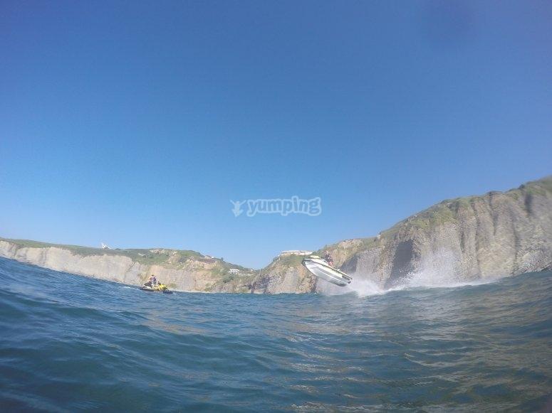 Vistas del paisaje natural asturiano