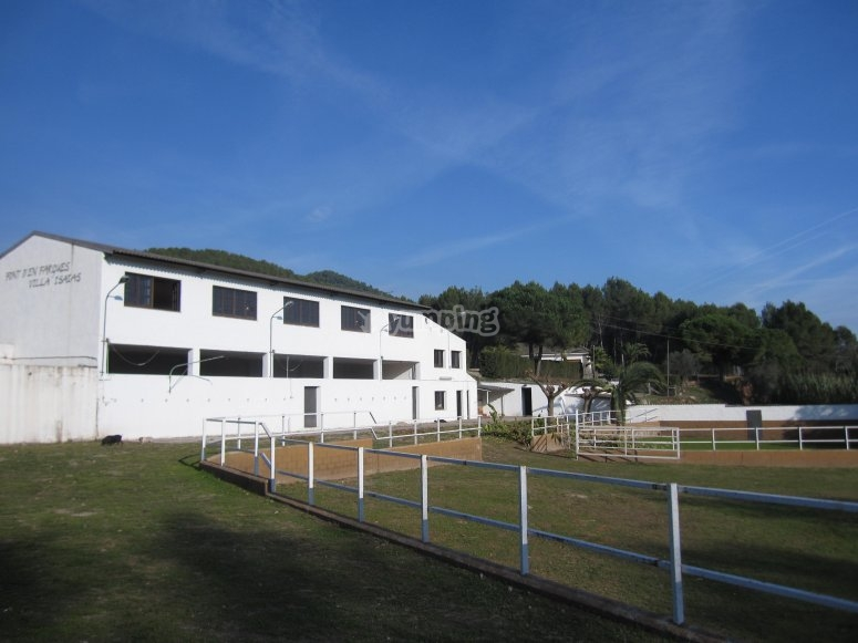 Hall for events and dressage arena