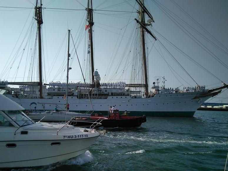 Espectacular barco