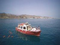 Ruta en barco por el Mediterraneo