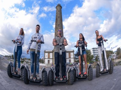Segway route around southern Gran Canaria