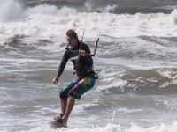Practica kitesurf
